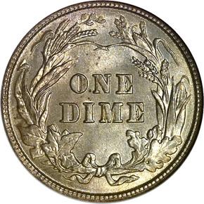 1903 10C MS reverse