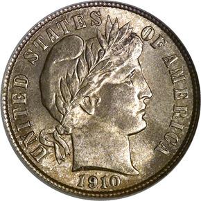 1910 10C MS obverse