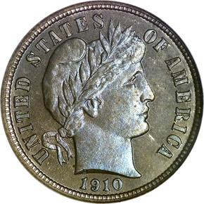 1910 10C PF obverse