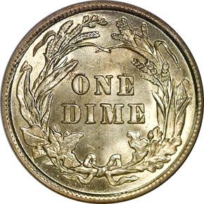 1911 10C MS reverse