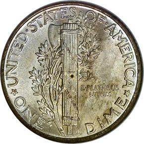 1930 10C MS reverse