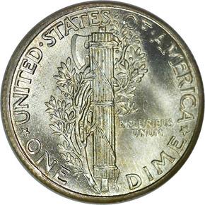 1934 10C MS reverse