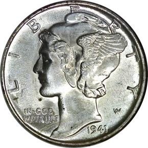 1941 10C MS obverse