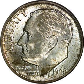 1948 10C MS obverse