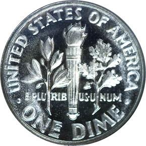1954 10C PF reverse