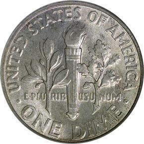 1956 10C MS reverse