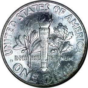 1959 10C MS reverse