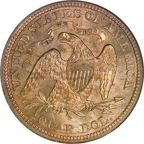 1871 S 25C MS reverse
