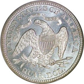 1872 25C MS reverse