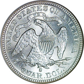 1877 S 25C MS reverse