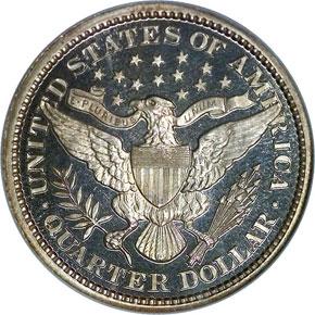 1893 25C PF reverse
