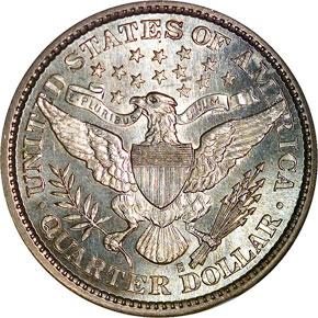 1893 S 25C MS reverse
