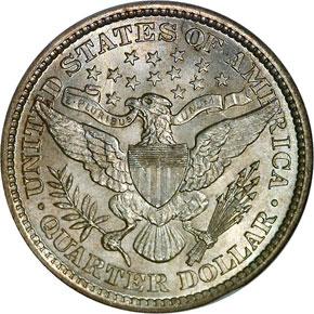 1894 25C MS reverse
