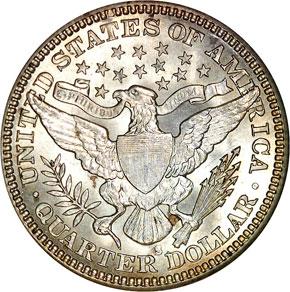 1907 S 25C MS reverse