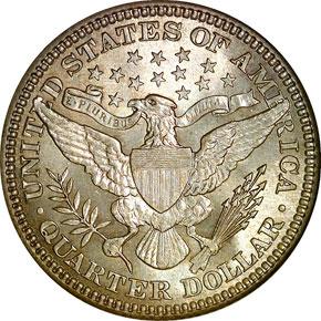 1908 25C MS reverse