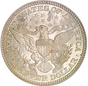 1914 25C MS reverse