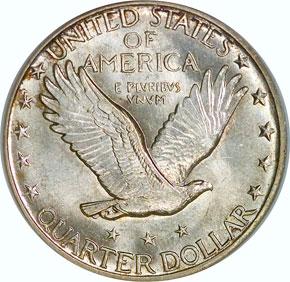 1917 S TYPE 2 25C MS reverse