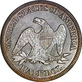 1848 50C MS reverse