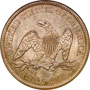 1864 50C MS reverse