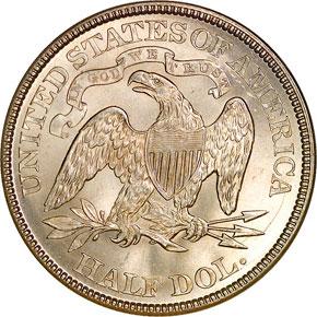 1878 50C MS reverse