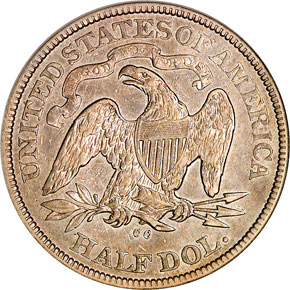 1878 CC 50C MS reverse