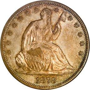 1878 S 50C MS obverse
