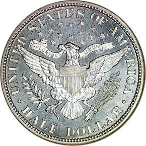 1896 50C MS reverse