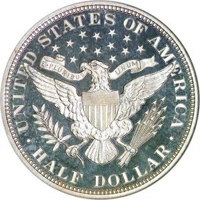 1896 50C PF reverse