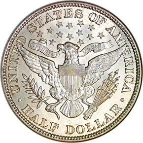 1897 50C MS reverse