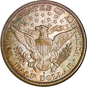 1898 S 50C MS reverse