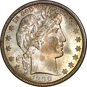 1900 O 50C MS obverse