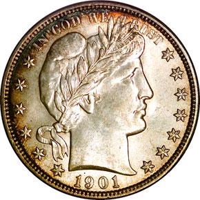 1901 50C MS obverse