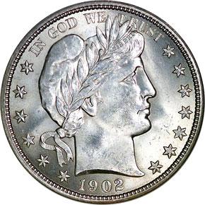 1902 50C MS obverse