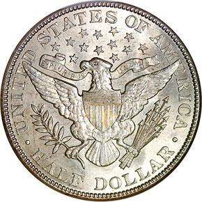 1903 50C MS reverse