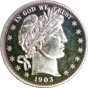 1903 50C PF obverse