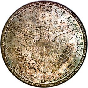 1905 S 50C MS reverse