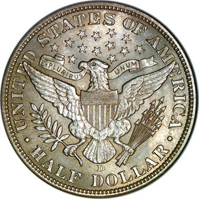 1906 D 50C MS reverse