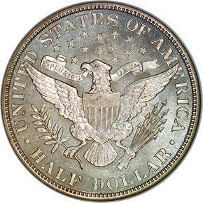 1907 50C MS reverse