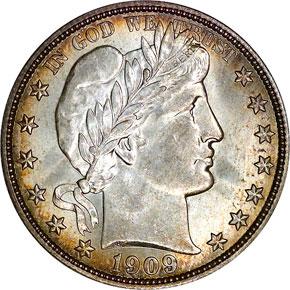 1909 O 50C MS obverse