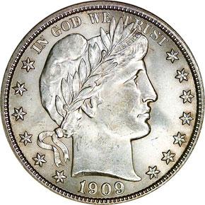 1909 S 50C MS obverse