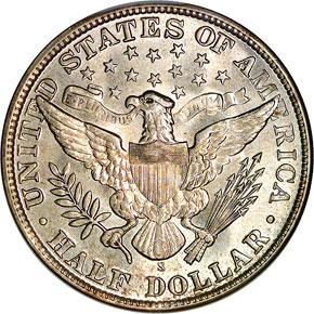 1911 S 50C MS reverse