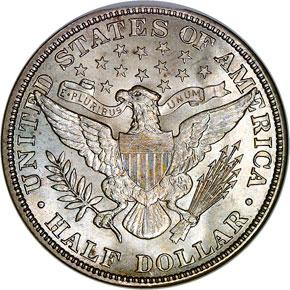 1913 50C MS reverse