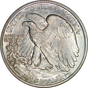 1918 D 50C MS reverse