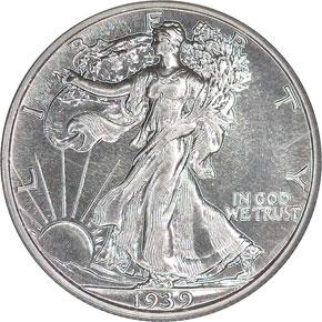 1939 50C PF obverse