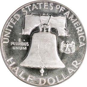 1951 50C PF reverse