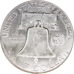 1962 50C MS reverse