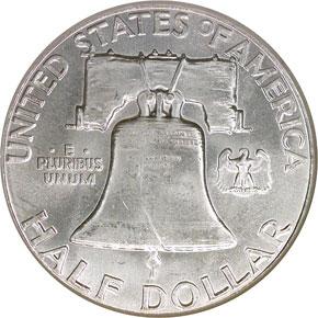 1963 50C MS reverse