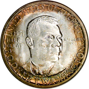 1951 S B.T. WASHINGTON 50C MS obverse