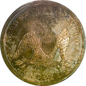 1840 S$1 MS reverse