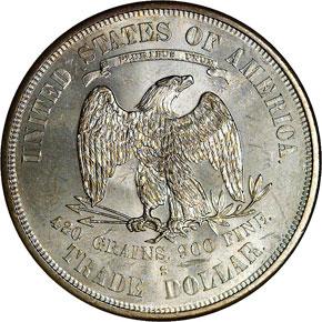 1876 S T$1 MS reverse